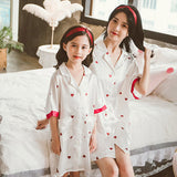 Mommy & Me Matching Hearts Pajamas - dresslikemommy.com
