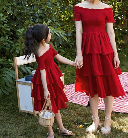 Matching Summer Princess Skirt Dress - dresslikemommy.com