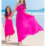 Beach Party Summer Dress Mommy & Me - dresslikemommy.com