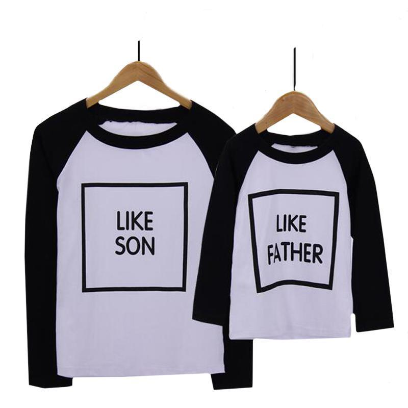 3d6112c8 Daddy and Me Like Father Like Son T-Shirt-Family Matching-dresslikemommy.