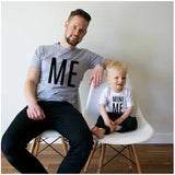Daddy and Me Me Mini Me T-Shirt-Family Matching-dresslikemommy.com