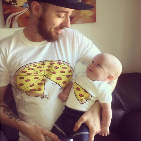 Daddy and Me Pizza T-Shirt - dresslikemommy.com