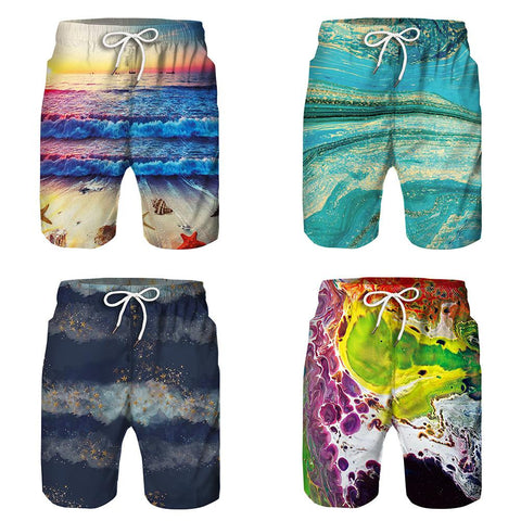 Daddy & Son Matching Beach Swim Trunks - dresslikemommy.com
