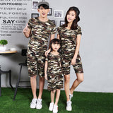 Family Matching Camouflage Short + T-shirt Set-Family Matching-dresslikemommy.com