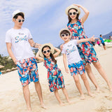Family Matching Colorful Outfit - dresslikemommy.com