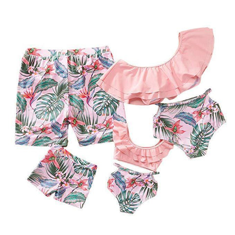 Family Matching Fun Swimsuits-Family Matching-dresslikemommy.com