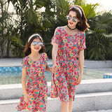 Family Matching Hawaii Pink Floral Set-Family Matching-dresslikemommy.com