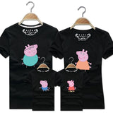 Family Matching Peppa Pig Cotton T-Shirt-Family Matching-dresslikemommy.com