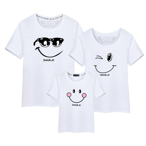 Family Matching Smile T-Shirt - dresslikemommy.com