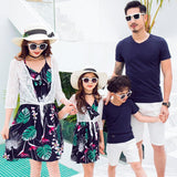 Family Matching Tropical Print Outfit - dresslikemommy.com