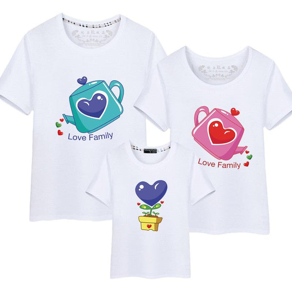 Family Matching Watering Pot T-Shirt - dresslikemommy.com