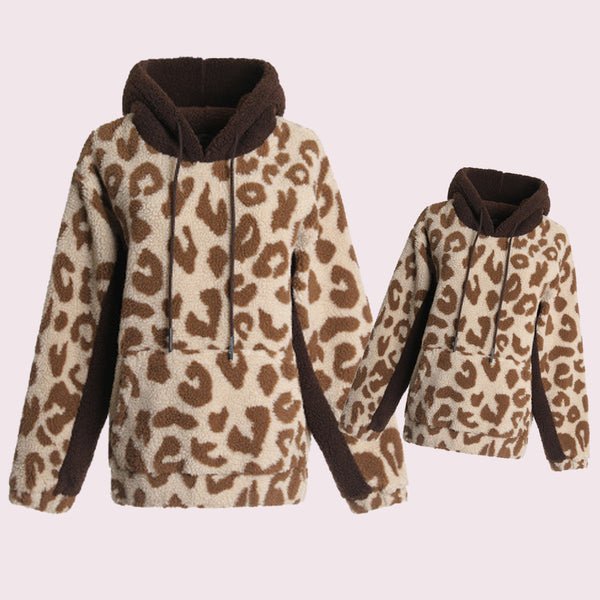 Matching Mommy & Me Leopard Winter Sweater - dresslikemommy.com