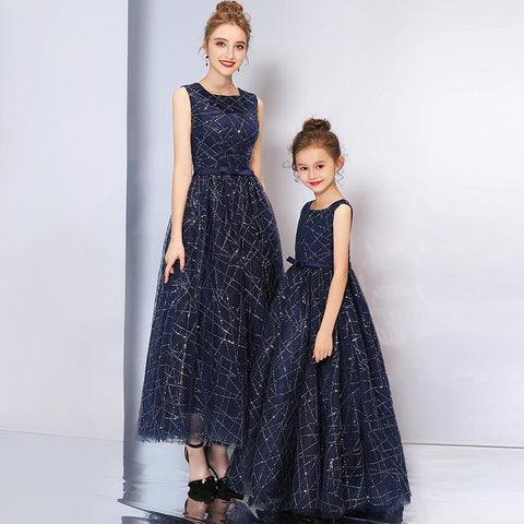 High-end Matching Wave Princess Dress (customize)-Dresses-dresslikemommy.com