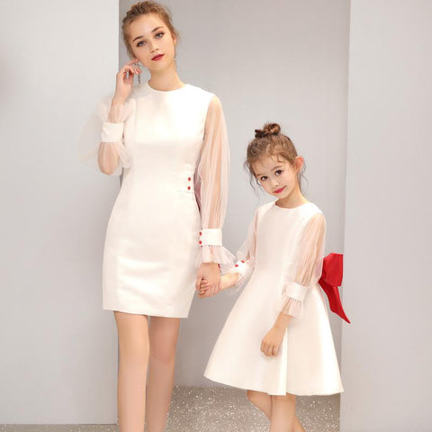 High-end Mommy & Me Party Dress (customize)-Dresses-dresslikemommy.com