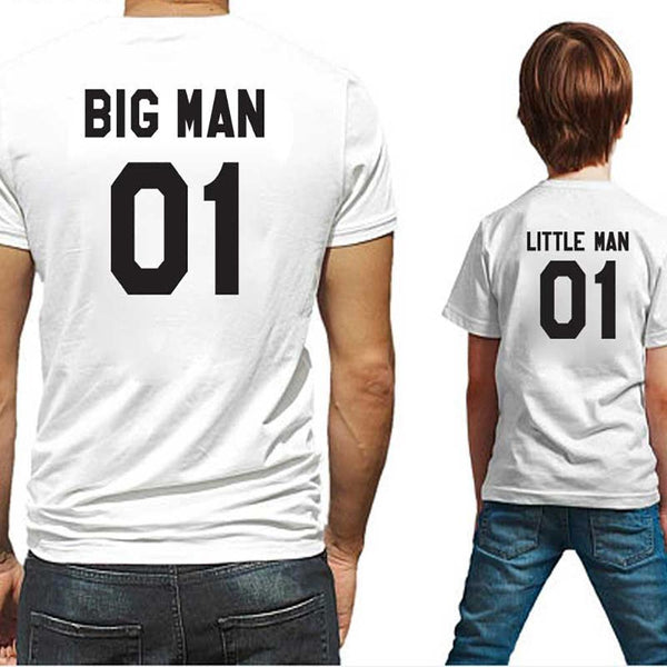Matching Big Man Little Man T-Shirts - dresslikemommy.com