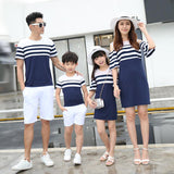 Matching Family Striped Outfit - dresslikemommy.com