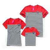 Matching Family Striped T-shirt Set - dresslikemommy.com