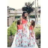 Matching Maxi Double Rose Patchwork-Dresses-dresslikemommy.com