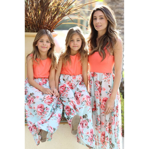 Matching Maxi Double Rose Patchwork - dresslikemommy.com