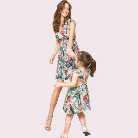 Matching Mommy & Me Amazon Dress-Dresses-dresslikemommy.com