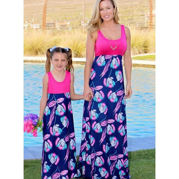 Matching Mommy & Me Sunny Day Dress - dresslikemommy.com