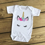 Matching Mommy & Me Unicorn T-shirt-Tops-dresslikemommy.com