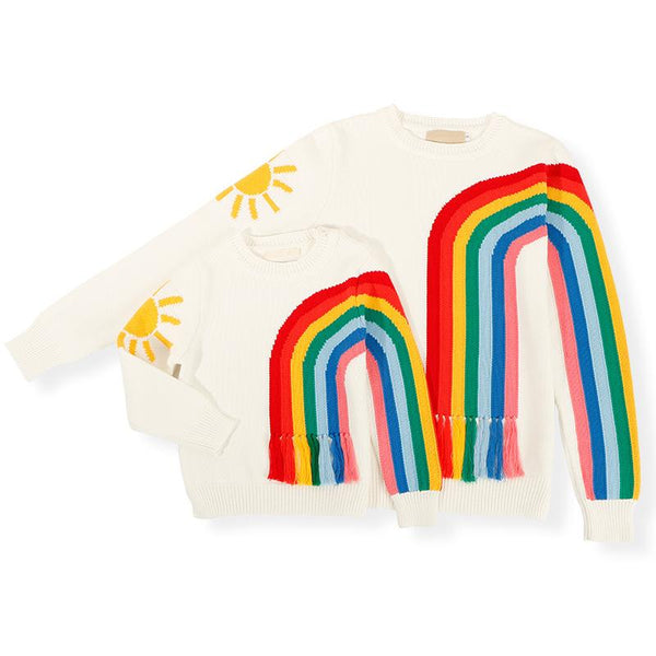 Matching Sun Rainbow Sweater - dresslikemommy.com
