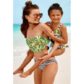 Matching Turtle Back Bamboo Swimwear-Swimsuits-dresslikemommy.com