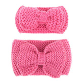 Mom and Me Matching Cotton Knot Headband Pink Set - dresslikemommy.com