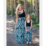 Mommy and Me Coral Maxi Dress - dresslikemommy.com