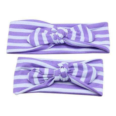 Mommy and Me Knot Headwrap Headband Set-Headbands-dresslikemommy.com