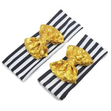 Mommy and Me Large Sequin Bow Headband Set - dresslikemommy.com