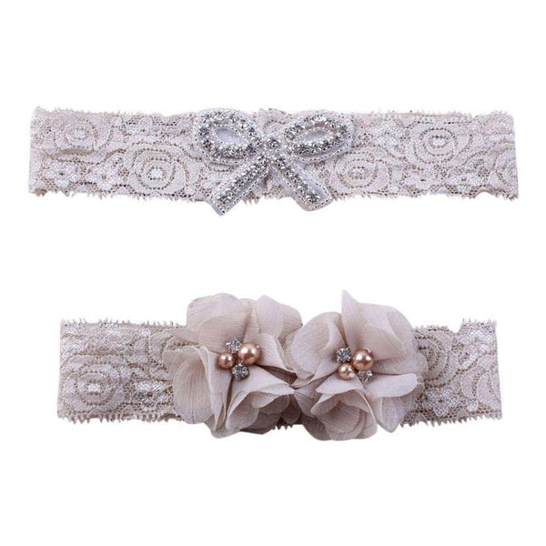 Mommy and Me Vintage Lace Headband Set - dresslikemommy.com