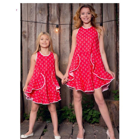 Mommy & Me Fashion Outfit Sundress-Dresses-dresslikemommy.com