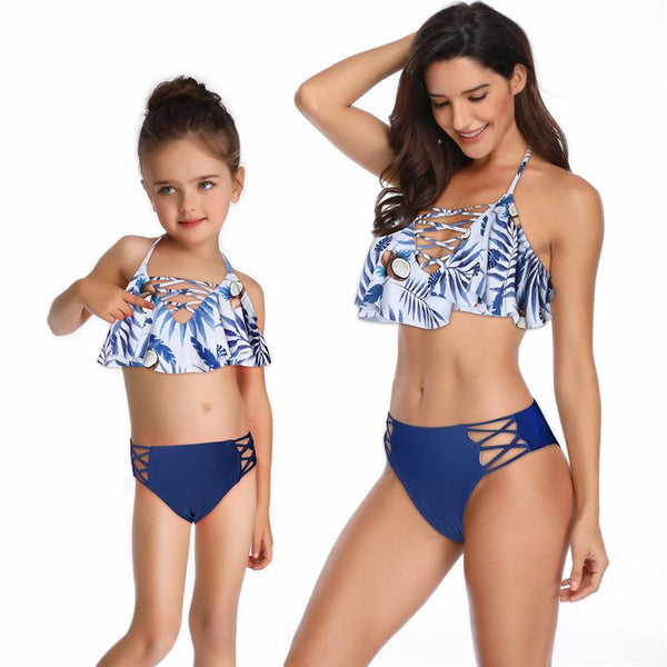 Mommy & Me Matching Bikini Swimsuit - dresslikemommy.com
