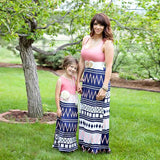 Mommy & Me Matching Bohemian Patchwork Dress-Dresses-dresslikemommy.com