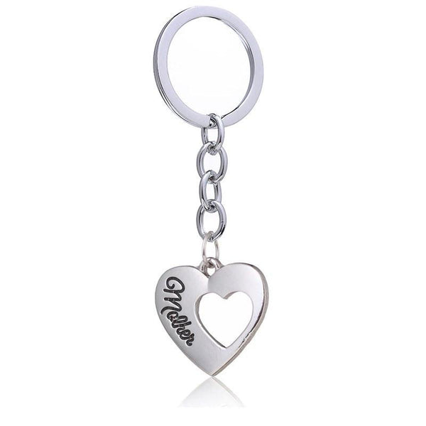 Mother and Daughter Always Key chain-Key Chains-dresslikemommy.com