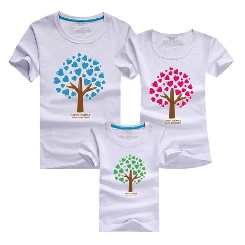 Mother and Daughter Matching Tree T-shirts - dresslikemommy.com
