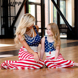 Mother Daughter Flag Maxi Dress - dresslikemommy.com