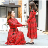 Mother daughter long dress - dresslikemommy.com
