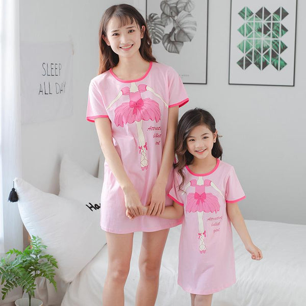 Mother Daughter Matching Ballet Pajamas - dresslikemommy.com