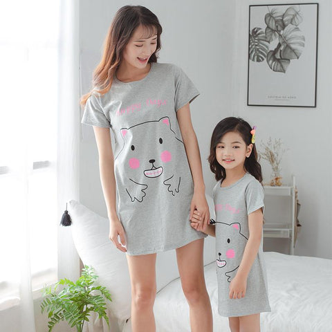 Mother Daughter Matching Hamster Pajamas-Pajamas-dresslikemommy.com