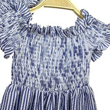 Mother Daughter Matching Striped Dress-Dresses-dresslikemommy.com