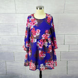 Mother Daughter Shoulder-less Floral Dress - dresslikemommy.com