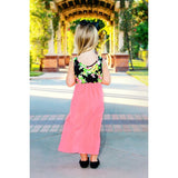 Mother Daughter Summer Floral Patchwork Dress - dresslikemommy.com