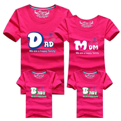 O-Neck Matching Family Clothes - dresslikemommy.com