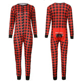 Family Match Stripe Print Pajama Warm Sleepwear - dresslikemommy.com
