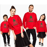 Christmas Family Matching Unisex Jumper Hoodies