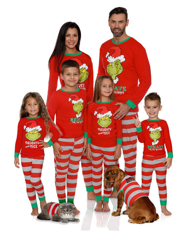 Cotton Christmas Family Matching Pajamas
