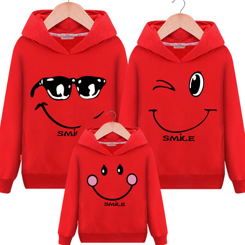 Family Matching Outfits Sweatshirt Hooded Sweater - dresslikemommy.com